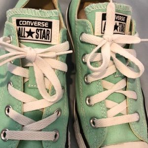 Mint converse sneakers (Chuck Taylor All Star)